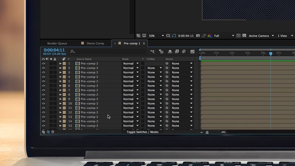 2802e4a6 0276 4260 9be4 cfd2a4d89fef - رفع خطای Cached Preview در After Effects