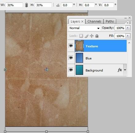 طراحی پوستر تایپوگرافی در فتوشاپ