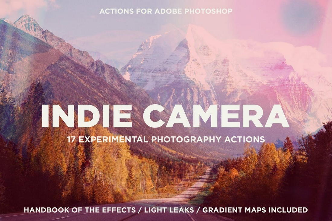 Indie Camera Actions for Adobe Photoshop - تفاوت فتوشاپ و لایت روم